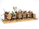 Spearmen with standard